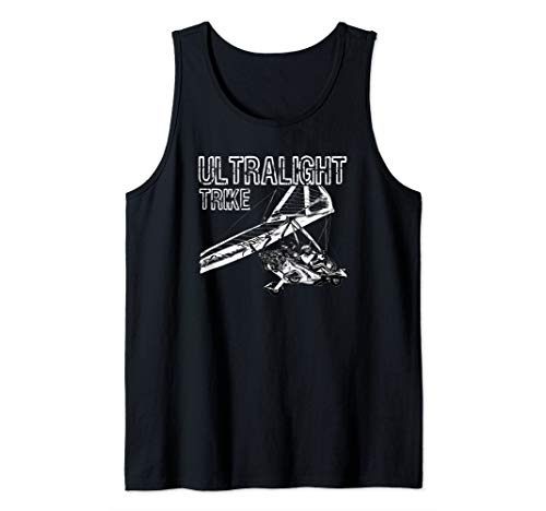 Micro Light Aircraft Ultralight Trike Tank Top