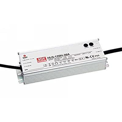 HLG-120H-12A Mean Well AC-DC LED Power Supply 12V 10 AMP 120W