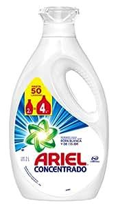 Ariel Líquido Concentrado Detergente Líquido 2 L para lavar ropa blanca y de color