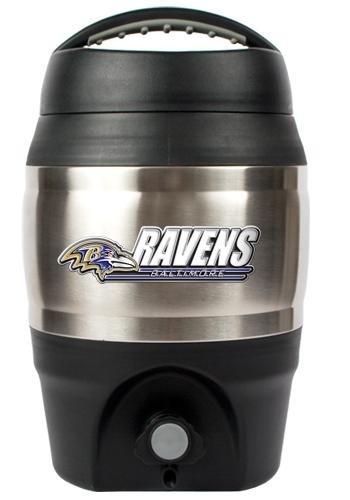 - NFL Baltimore Ravens 1 Gallon Tailgate Keg