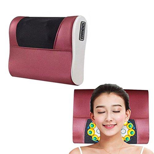 YB- Nuevo Multifuncional Masaje Cervical Cintura Corporal Almohada Eléctrica Hombro Espalda Cojines Del Cuello Masajeador (Color : A): Amazon.es: Salud y ...