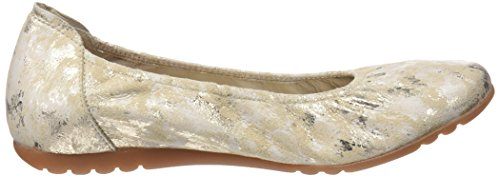 sabrinas Platino Toe Women's London Flats Ballet Silver Closed 032 rTrA0wxq