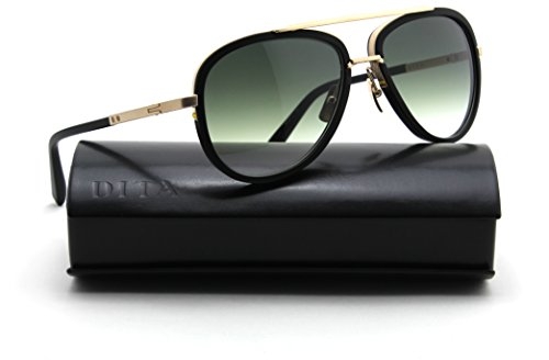 Dita MACH TWO Aviator Sunglasses Antique 12K Gold - Aviator Dita Sunglasses