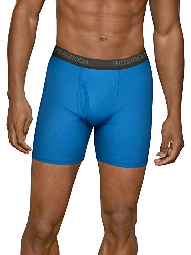 (Fruit of the Loom Men's Micro-Stretch Boxer Briefs, Assorted,)