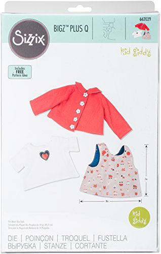 Sizzix 662029 Bigz Dies Plus-Doll Apparel Top by Kid Giddy