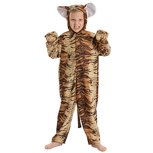 Tiger Costume Lite for Kids 5-7 Years -