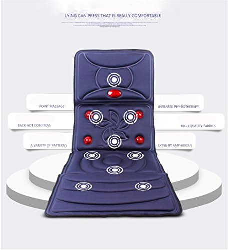 3D stereoscopic vibrating massage cushion, Neck back waist hip leg massage mattress for Home