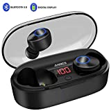 Best Led Headphones - Wireless Earbuds, ANBES Bluetooth Headphones 5.0 LED Display Review