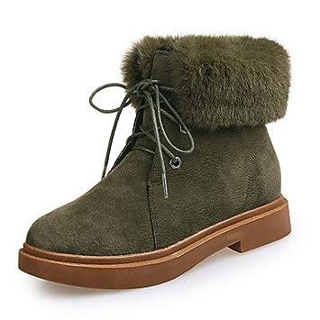 Chaussures à bout rond Lvxiezi noires femme 1q6WKP