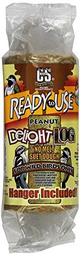C & S Products RTU 2-Pound Peanut Delight Log, 8-Piece