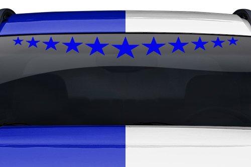 esign #105-02 Stardust Star Dust Windshield Decal Sticker Vinyl Graphic Rear Window Banner Tailgate Car Truck SUV Van Go Cart Boat Trailer Wall | 36