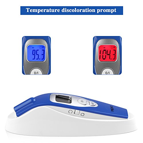 Baby Forehead Thermometer,MIQIKO No-Contact Clinical Infrared Digital Thermometer for /Kids /Adults /Elderly, Forehead /Object Mode,32 Memory, with Instant Reading and Improved Accuracy by MIQIKO (Image #2)