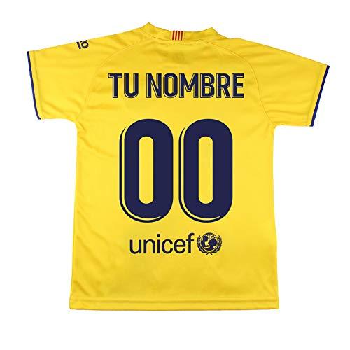 Champion's City Camiseta – Personalizable – Adulto Segunda Equipación – FC Barcelona – Réplica Autorizada