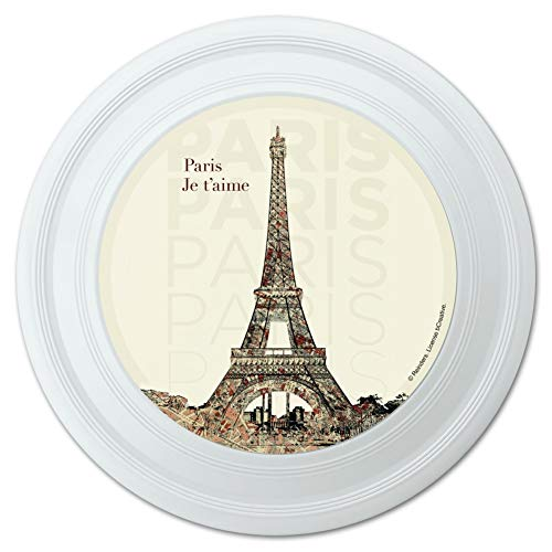 Graphics and More Paris, Je T'Aime I Love You Eiffel Tower City Map Novelty 9