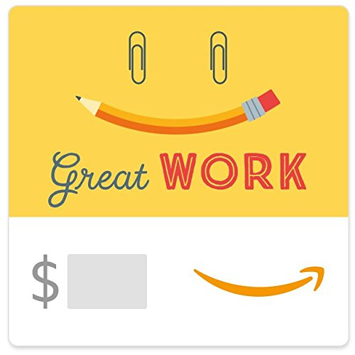 Amazon eGift Card - Great Work (Paperclips)