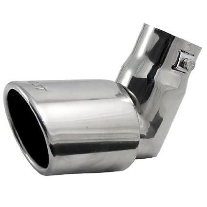 Hardcastle Embellecedor de tubo de escape de coche (desplegable, de acero inoxidable y ovalado): Amazon.es: Coche y moto