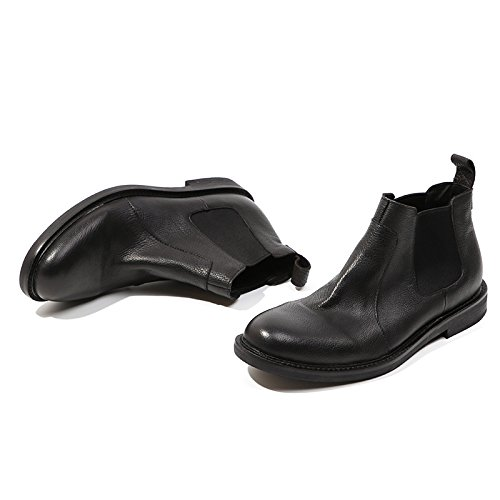Retro - martin stiefel, chelsea Stiefel, hohe stiefel und kurze stiefel, klassischen retro - englisch kurz - stiefel,schwarz,42