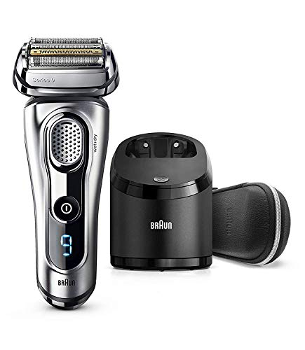 Braun Electric Shaver, Series 9, 9290cc Men's Foil Shaver, Travel Case with Clean & Charge System ()