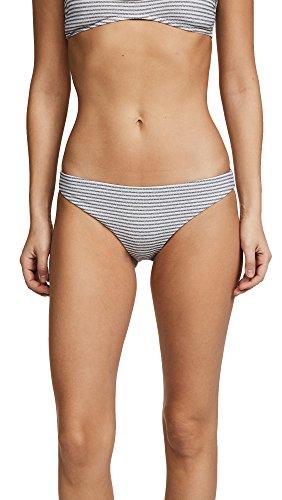 Eberjey Women's Sea Stripe Annia Bottoms, Natural/Black, (Eberjey Natural)