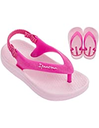Ana Tan Girls' Baby Flip Flops