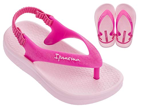Ipanema Ana Tan Baby Flip-Flop Pink 8 M US Toddler