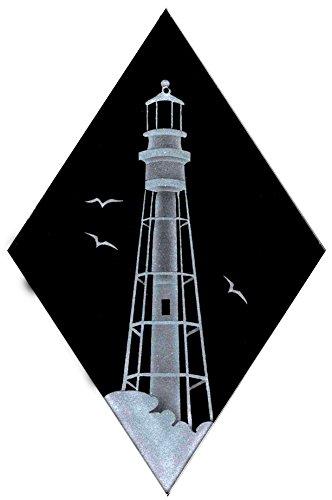 - Carved Glass Hillsboro Lighthouse Decorative Sun Catcher