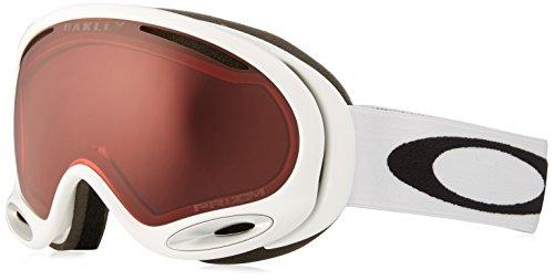 Oakley A-Frame 2.0 Ski Goggles, Polished White/Prizm - Rectangular Goggles