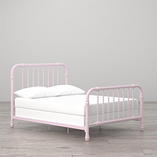 (Little Seeds Monarch Hill Wren Metal Bed Full, Pink)