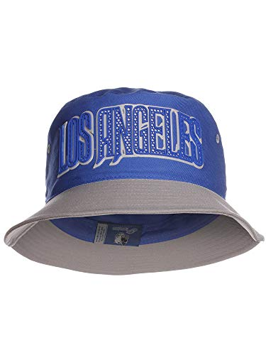 American Cities Los Angles LA California Champion City Bucket Hats with 3D Rubber Letters