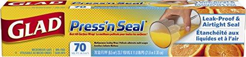 Glad Press'n Seal Wrap, 70 Square Foot Roll