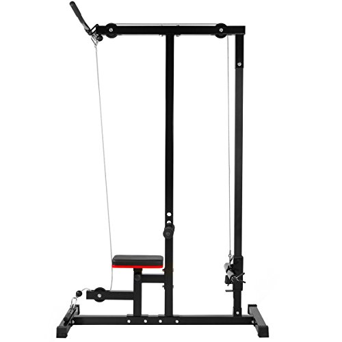 Bowflex Revolution Seated Lat Row: Multi-Function Pro Lat Machine Low Row Cable Pull Down