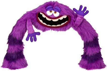 Monsters University Art (Disney / Pixar Monsters University Poseable LEG / ARM ART 12 Plush by Disney)