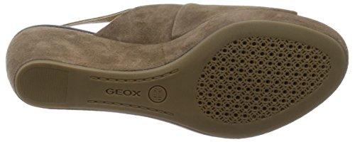 Geox , Sandales pour femme, Gris, 38