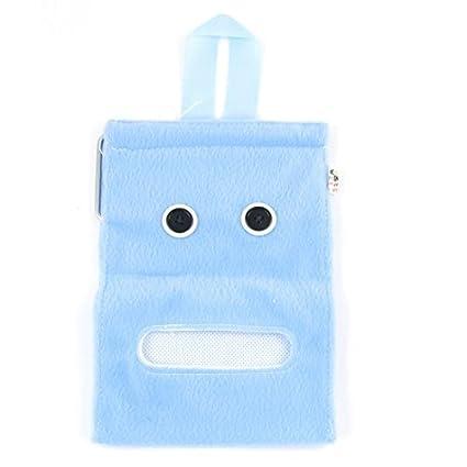 Tapeçaria Rolo do papel higiénico tecido de toalha Titular Container Azul bebê