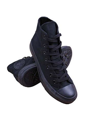 Taylor All Star High Top, 5.5 D(M) US, Black Monochrome ()