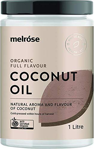 MELROSE Organic Full Flavour Coconut Oil 1L