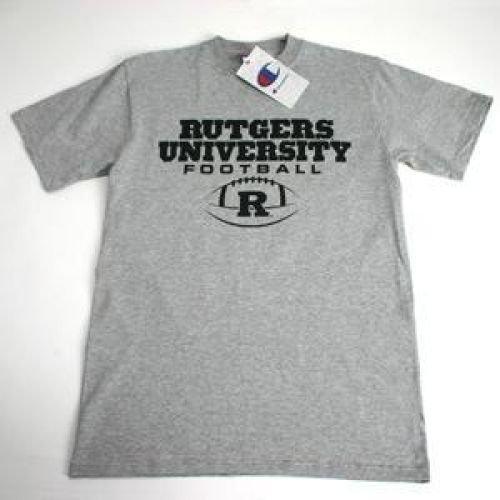 Champion Rutgers Scarlet Knights University Football T-shirt - Oxford - Unisex - XL