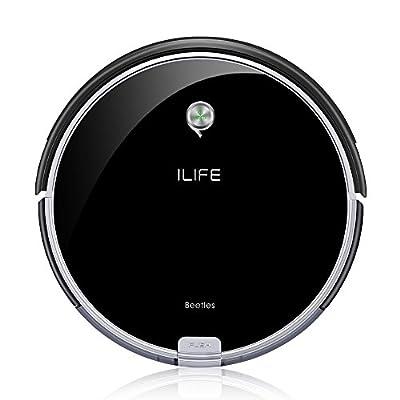 ILIFE A6 Robotic Vacuum Cleaner, Piano Black