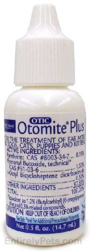 Otomite Plus Ear Mite Treatment (14.7 mL) by VIRBAC