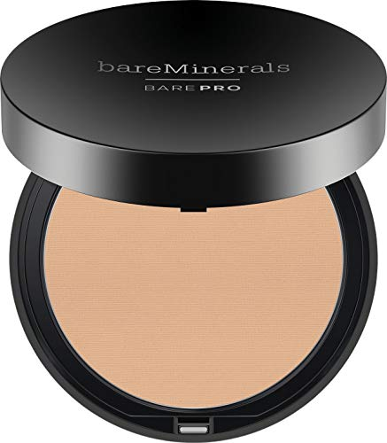 bareMinerals Barepro Performance Wear Powder Foundation, Light Natural, 0.34 - Mineral Foundation Pressed
