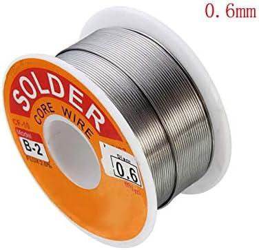 100g 2mm 63//37 Tin Lead Wire Reel Rosin Core Flux Soldering Welding Iron VE
