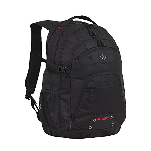 Outdoor Products Module Day Pack, 35.3-Liter Storage, Black