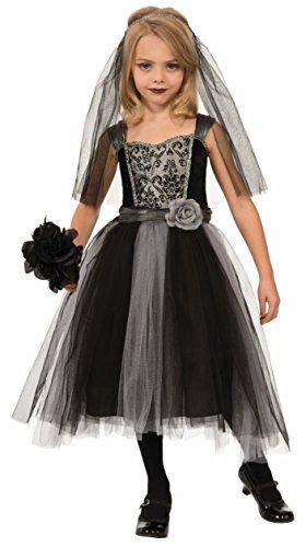 Forum Novelties Gothic Bride Costume, (Zombie Bride Costume Kids)