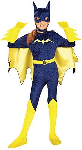 [Gotham Girls, Batgirl Costume, Large] (Comic Book Costumes Girls)