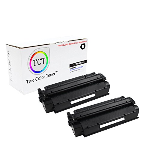 TCT Premium Compatible Toner Cartridge Replacement for HP 24A Q2624A Black Works with HP Laserjet 1150 Printers (2,500 Pages) - 2 Pack