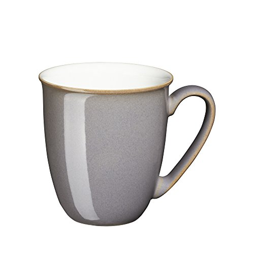 Denby USA Blends Truffle/Canvas Coffee Mug, Brown/Cream
