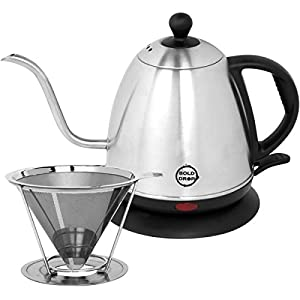 BoldDrop 1 Liter Electric Gooseneck Kettle – especially after she told me about her disappointment of her Keurig coffee maker