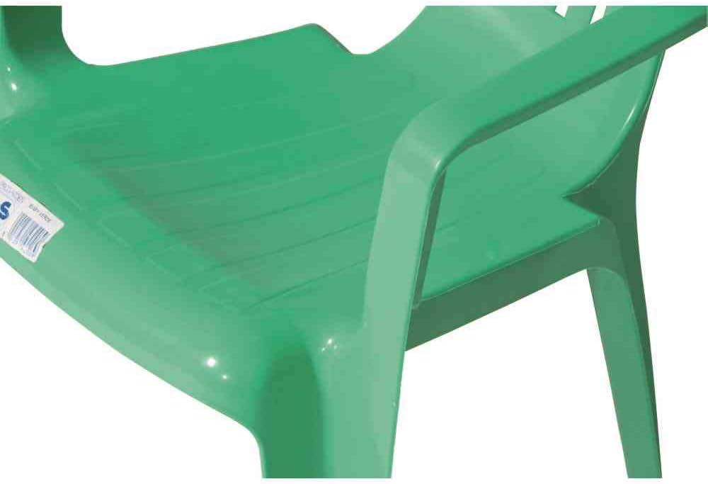 Verde greemotion 431345 Sedia Poltroncina Impilabile Bambini 38x38x52 cm