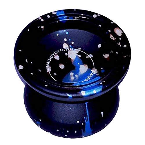 Blue Splash Silver MAGICYOYO /& iyo Purple Line Professional Yoyo Unresponsive Yo-Yo with String