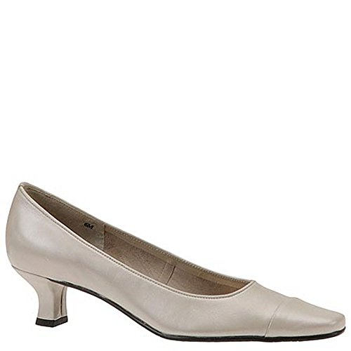 Mezzo By Van Eli Rickie Women's Pump 7.5 2A(N) US Sand (Leather Vaneli Mules)